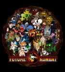 Future Kombat (multicolor ver) by liu-psypher
