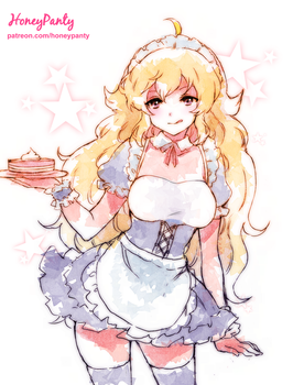 Maid Yang by HoneyPanty