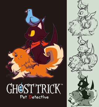 Ghost Trick - Phantom Detective by lumi-mae