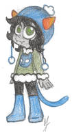Winterstuck Nepeta by Chesirecat332