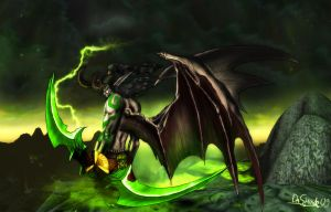 Illidan Stormrage by DaShadeE