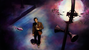 the eleventh doctor by Fanartittude