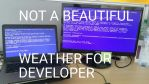 Not a beautiful weather for developer by Eruner
