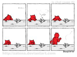 Le chat rouge - 2 by Zatona