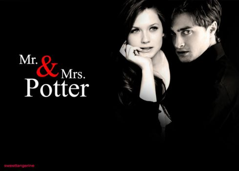 Mr. and Mrs. Potter by iloveSweetTangerine