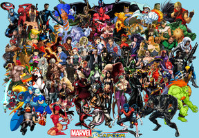 Marvel vs Capcom (My Version) by DENDEROTTO