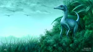 Compsognathus by NRG by NRGart7