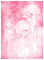 Tainted Hero : Falme'n Valentine by Kitty-Vamp