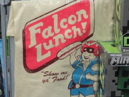 Falcon Lunch! by VampireFreakism