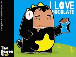 i love chocolate by bebelikeart