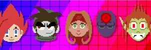 TOME 8-Bit Headshots by Kirbopher15