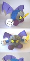 Metaknight amigurumi by vrlovecats