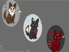 Adoptable Pups 3 by Not-Even-The-Turtle