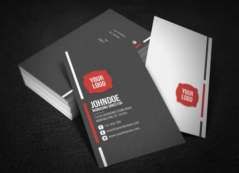 Neat Corporate Business Card by glenngoh
