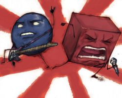 Randy And Nigel by Z-control