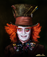 The mad hatter by Zenida