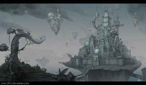 Forgotten Kingdom sketch by Azot2014