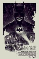 BATMAN 75th ANNIVERSARY - POSTER POSSE TRIBUTE #1 by BarbarianFactory