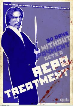 REPO: Repo Treatment Poster by tranimation-art