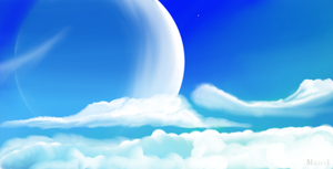World of clouds by Maarel