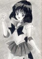 A cute Sailor Saturn by otherdruid
