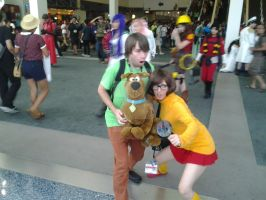 Shaggy, Scoob And Velma by LinkSketchit