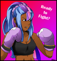 Twilight Sparkle boxing Star by TheAwesomeLuluSan