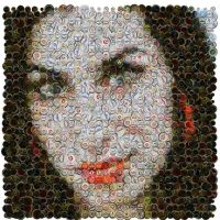 Amy Winehouse Mosaic by Cornejo-Sanchez