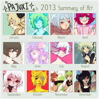 2013 Art Summary by Pajuxi