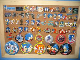 Sonic Pin Collection by MizukiiMoon