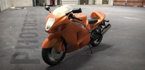 Moto RayTrace render by MixMyPhotoshop
