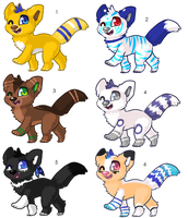 Adoptables by Kainaa