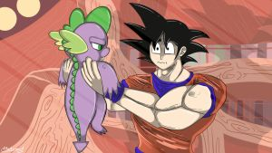 Shenron .... WHAT HAPPENED TO YOU!? by malamol