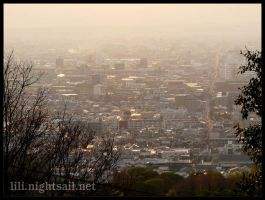 Kyoto, Japan: city view by Liliana-Claire