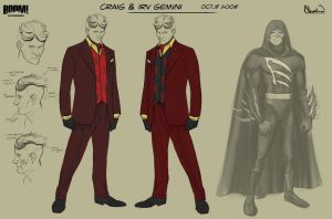 Caped Concept Art 2 by calebcleveland