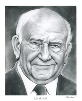 Ed Asner by gregchapin
