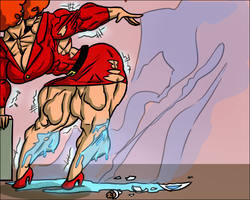 Buffing Bad - Miss Bellum by Ritualist