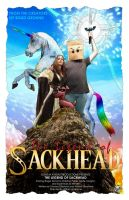 Legend of Sackhead Poster by Namcoking