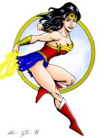Wonder Woman in Color by AnTTy3