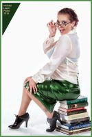MLP Elana Latex Skirt Librarian Oct13 6859 by MichaelLeachPhoto