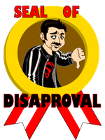 Angry Joe: seal of disaproval by BD-Ghis