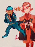 nerds by rompopita