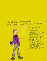 The Radical Comedian by LittleGreenGamer