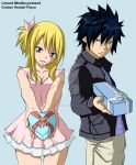 Fairy tail gifts graylu -colour-. by Honda-Thoru