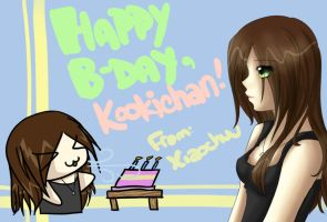 Happy B-Day, Kookichan by XiaoChuu