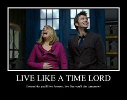Live Like A Time Lord by Okitakehyate
