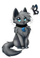 .Moonfur Chibi. by KylieKattu