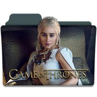 Game of Thrones : TV Series Folder Icon v6 by DYIDDO