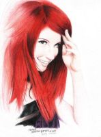 Hayley Williams by Elizabeth-H