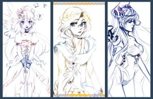 [#1]Gaia Sketches by Saviee